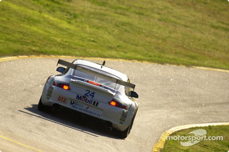 Alex Job Racing Porsche 911 GT3 RSR : Randy Pobst, Ian Baas