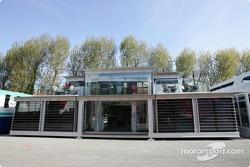 McLaren hospitality area