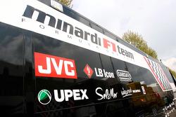 Minardi transporter
