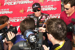 Interviews for pole winner Kevin Harvick