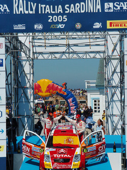 Podium: Daniel Sordo and Marc Marti