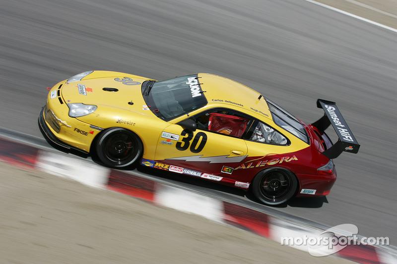 Alegra Motorsports Porsche GT3 Cup : Carlos de Quesada, Hugh Plumb
