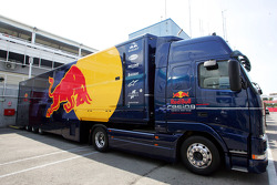 Red Bull Racing transporters