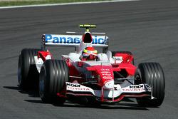 Ricardo Zonta, Toyota TF105