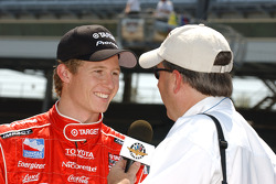 Ryan Briscoe with IMS Radio Network Mike King