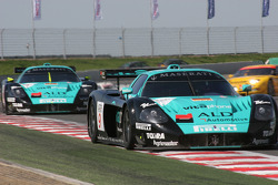 #9 Vitaphone Racing Team Maserati MC 12 GT1: Timo Scheider, Michael Bartels, #10 Vitaphone Racing Team Maserati MC 12 GT1: Thomas Biagi, Fabio Babini