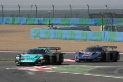 #9 Vitaphone Racing Team Maserati MC 12 GT1: Timo Scheider, Michael Bartels, #15 JMB Racing Maserati MC 12 GT1: Karl Wendlinger, Andrea Bertolini