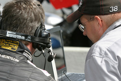 Essex Racing crew members at work