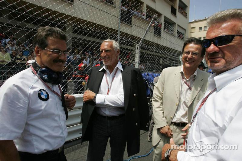 Dr Mario Theissen, Dietrich Mateschitz y Willi Webber