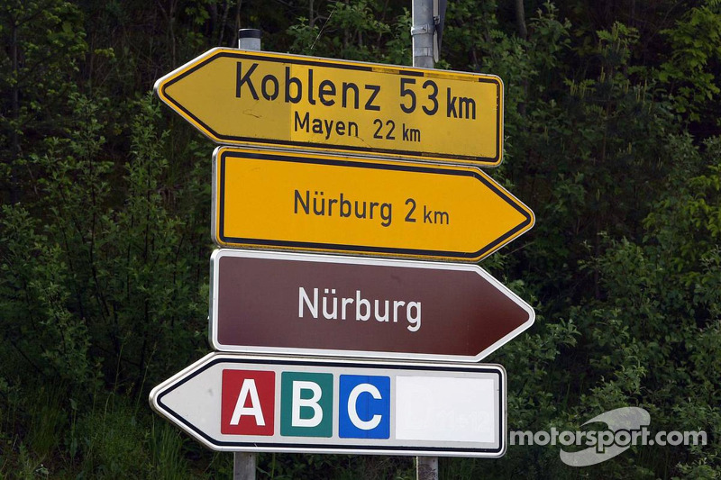 This way to the Nürburgring