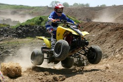 Dirt buggy and motocross racing with Red Bull event: Christian Klien