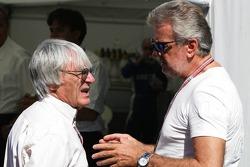 Bernie Ecclestone and Willi Weber