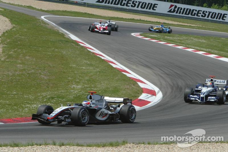 Pace lap: Kimi Raikkonen