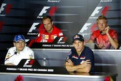 Thursday FIA press conference: Jacques Villeneuve, Christian Klien, Rubens Barrichello and Kimi Raikkonen