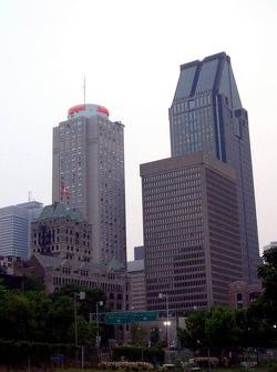 Downtown Montréal area