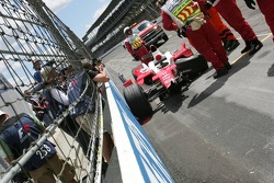 Das Unfallauto von Ralf Schumacher