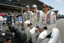 Karim Ojjeh, Adam Sharpe and Claude-Yves Gosselin