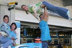 Renault F1 photoshoot