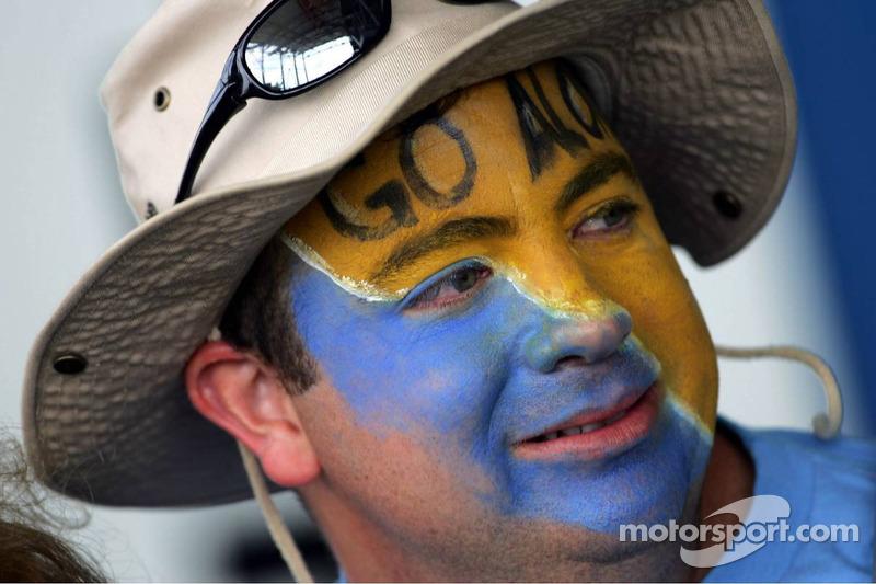 Un fan de Fernando Alonso