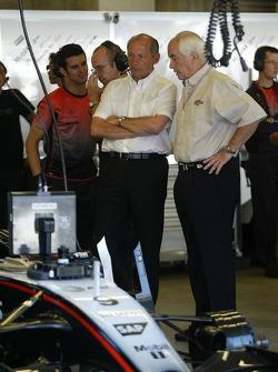 Ron Dennis and Roger Penske