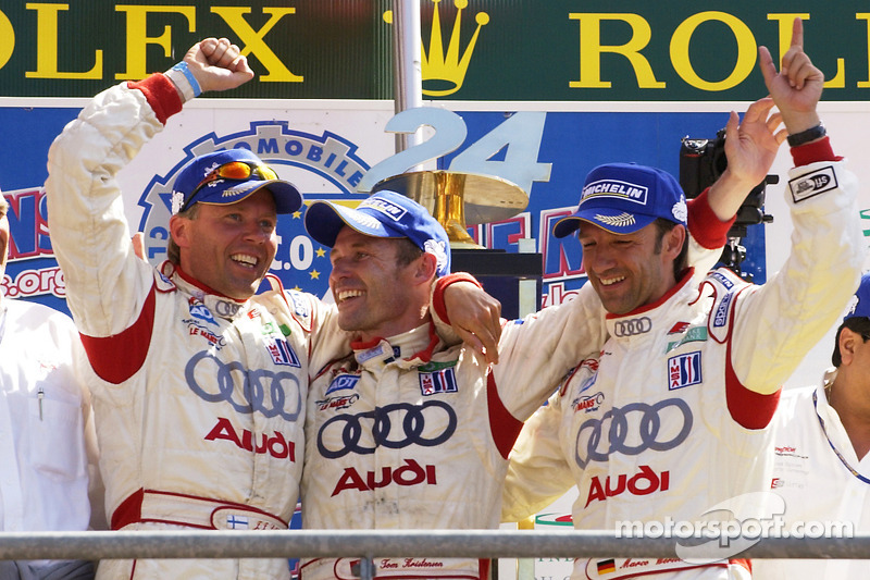 2005: JJ Lehto, Tom Kristensen, Marco Werner