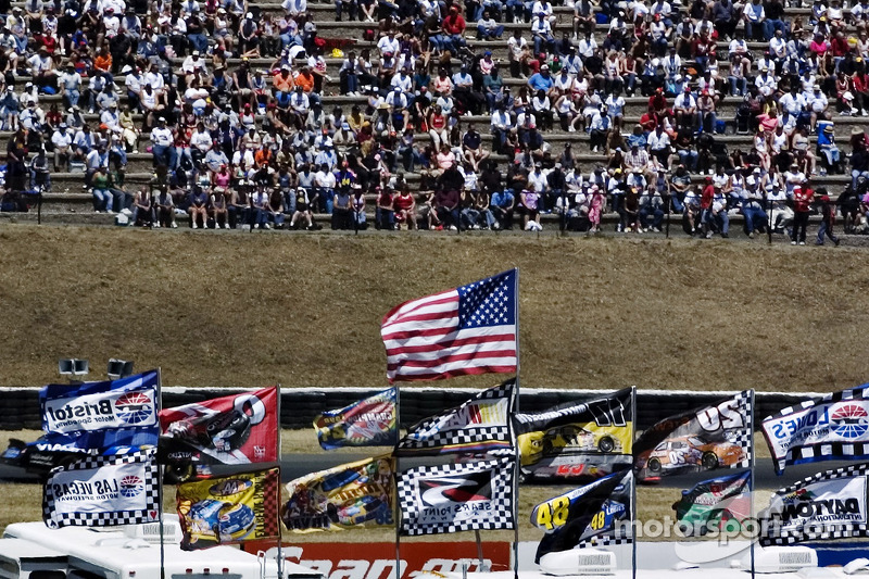 Banderas de los aficionados