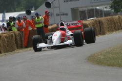 #245 1993 McLaren-Ford MP4/8, class 10: Chris Goodwin