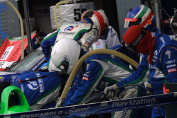 Pescarolo Sport team member at work