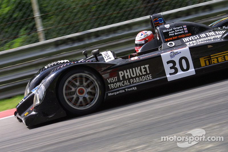 Kruse Motorsport Courage C-65 Judd : Phil Bennett, Michael Vergers, Juan Barazi