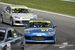 #67 SpeedSource Mazda RX-8: Rich Walker, John Bisignano
