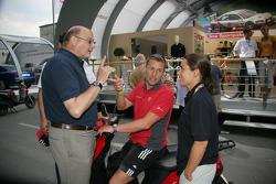 Werner Frowein, Tom Kristensen and Vanina Ickx