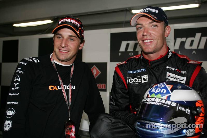 Christijan Albers y Robert Doornbos