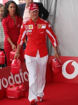 Vodafone event at Hockenheim Talhaus: Michael Schumacher