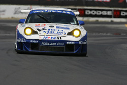 #24 Alex Job Racing Porsche 911 GT3 RSR: Randy Pobst, Ian Baas