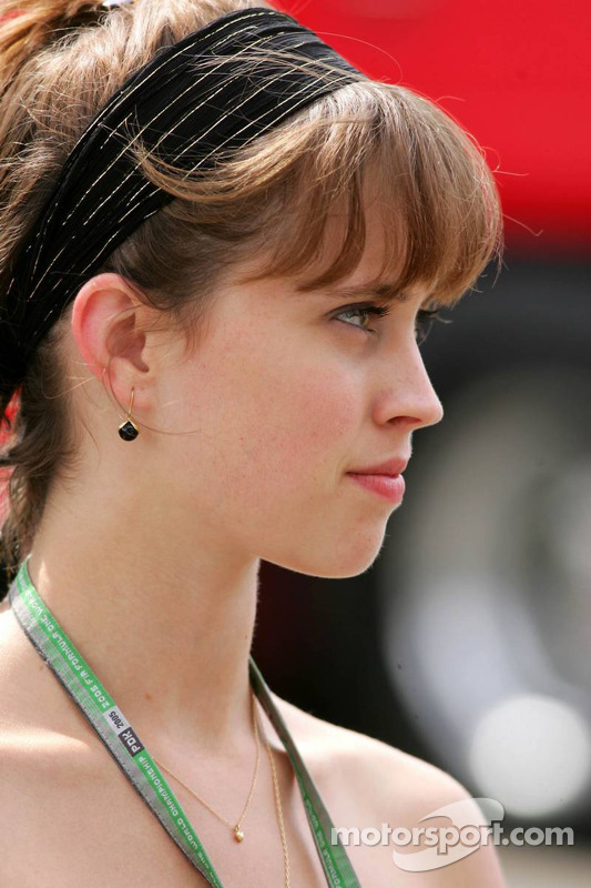 Ellie Green, girlfriend of Jacques Villeneuve
