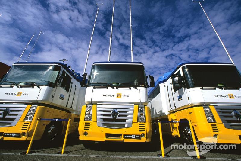 Trailers de Renault F1