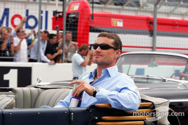 Presentación de pilotos: David Coulthard