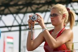 A cute photographer