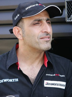 Chanoch Nissany test driver for Minardi
