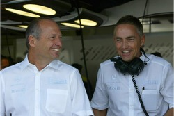 Ron Dennis and Marin Whitmarsh