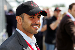 His Highness Sheikh Maktoum Hasher Maktoum Al Maktoum, CEO and President of A1 Grand Prix