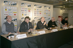 DTM press conference on the 2006 rules