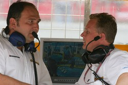 Colin Kolles and Johnny Herbert