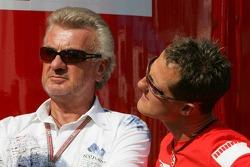 Willi Weber and Michael Schumacher