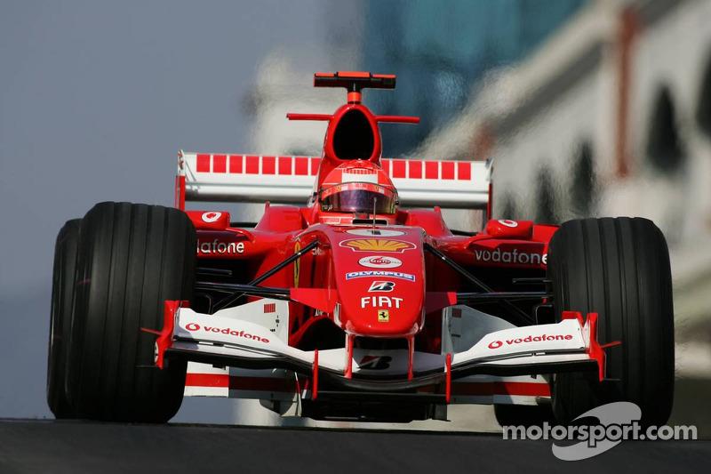 Michael Schumacher - 18 puan