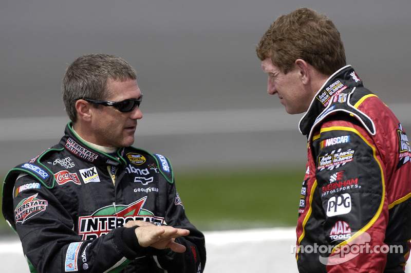 Bobby Labonte y Bill Elliott