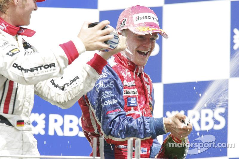 2005 - Lutte pour le titre GP2 face à Rosberg