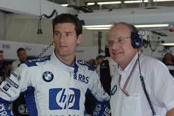 Mark Webber and Prof Burkard Goeschel