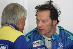 Jacques Villeneuve with Pierre Dupasquier