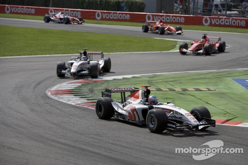Jenson Button y Takuma Sato